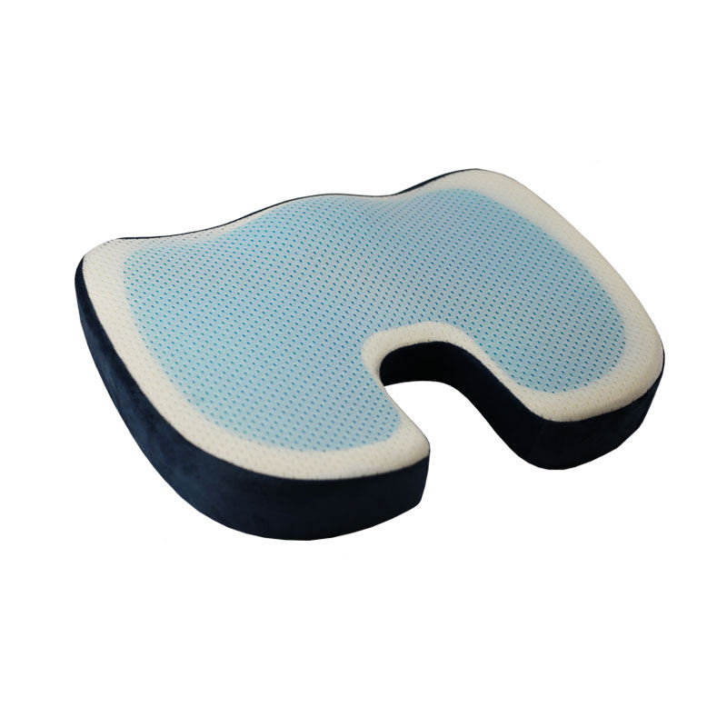 cooling gel seat cushion gel enhanced coccyx orthopedic memory foam seat cushion