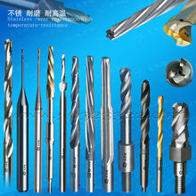 Long edge extra deep hole slender hole taper reamer