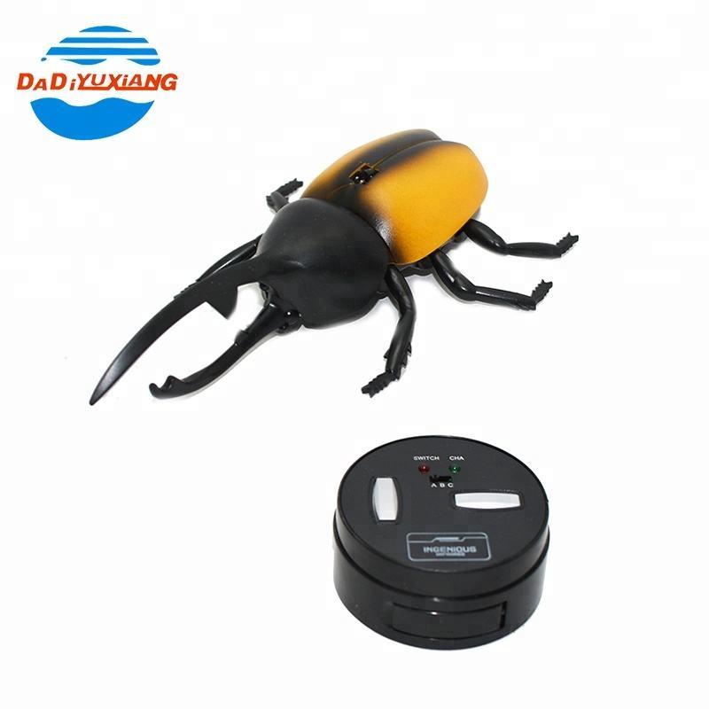 En plastique beetle forme animale petit rc <span class=keywords><strong>jouets</strong></span> pour les enfants