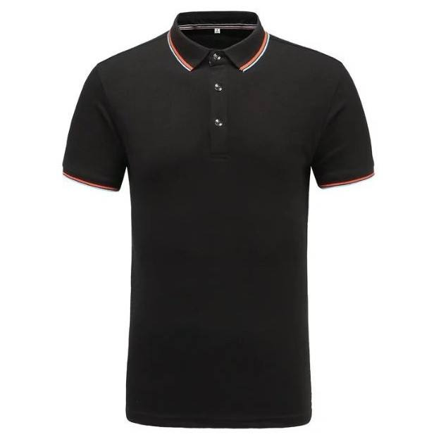 65/35 Custom polo shirt, front chest embroidery logo polo shirt