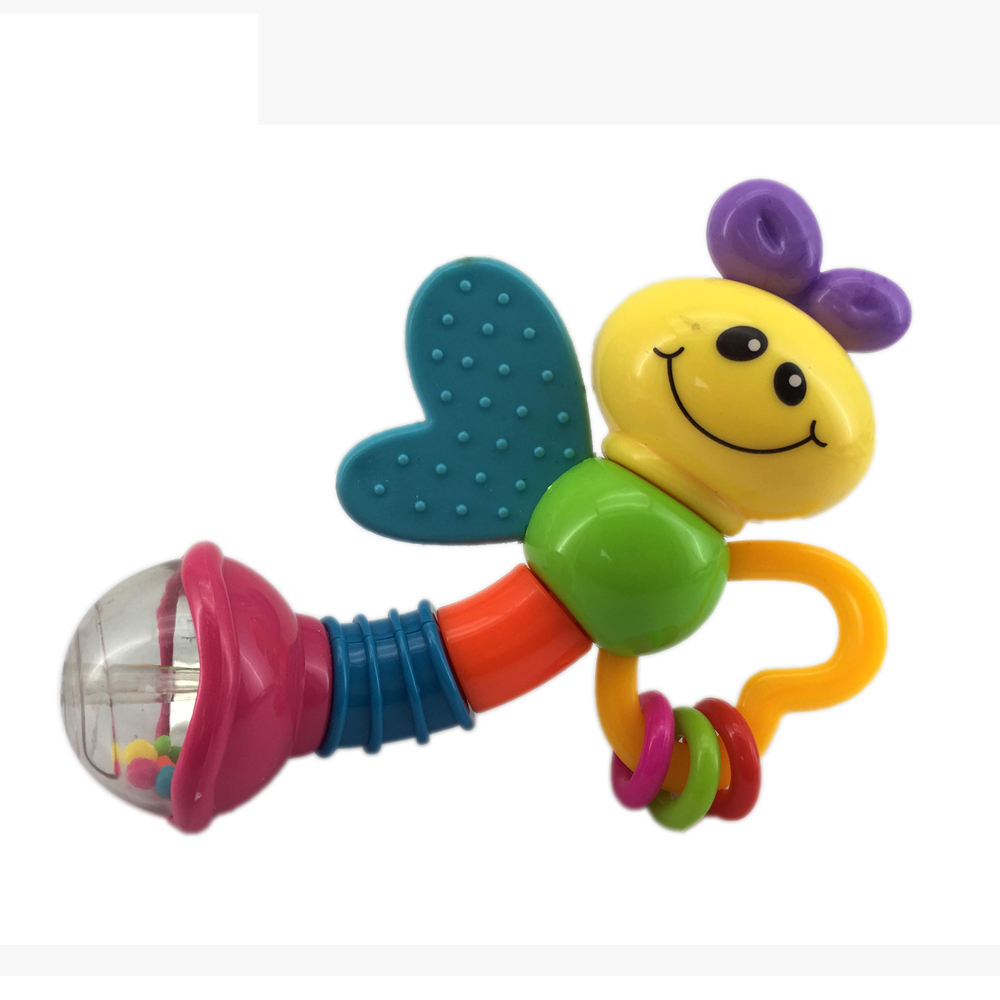 Promotie Glowworm Plastic Bel Speelgoed Grappige <span class=keywords><strong>Baby</strong></span> <span class=keywords><strong>Rammelaar</strong></span>