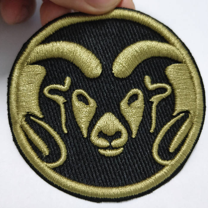 wholesale cheap iron on patches custom embroidery