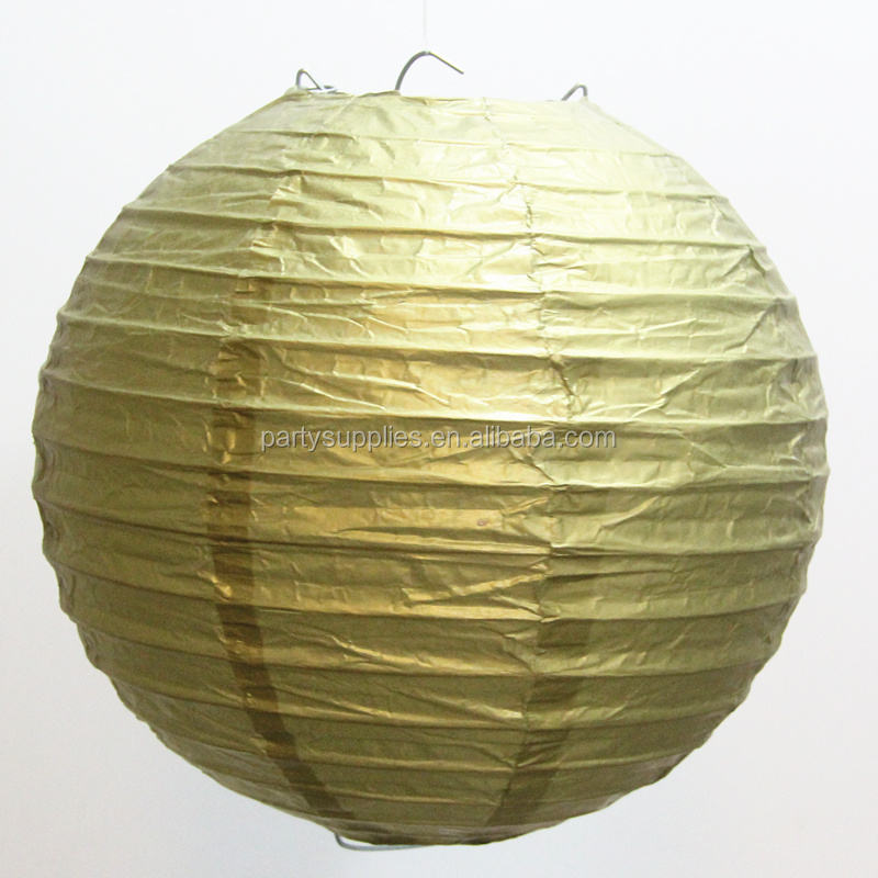 Colorful Top Quality Round Paper Lantern Supply of Party Decoration