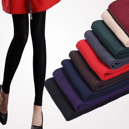 High quality winter new style fashion woman legging pretty tight sexy warm velvet lady legging