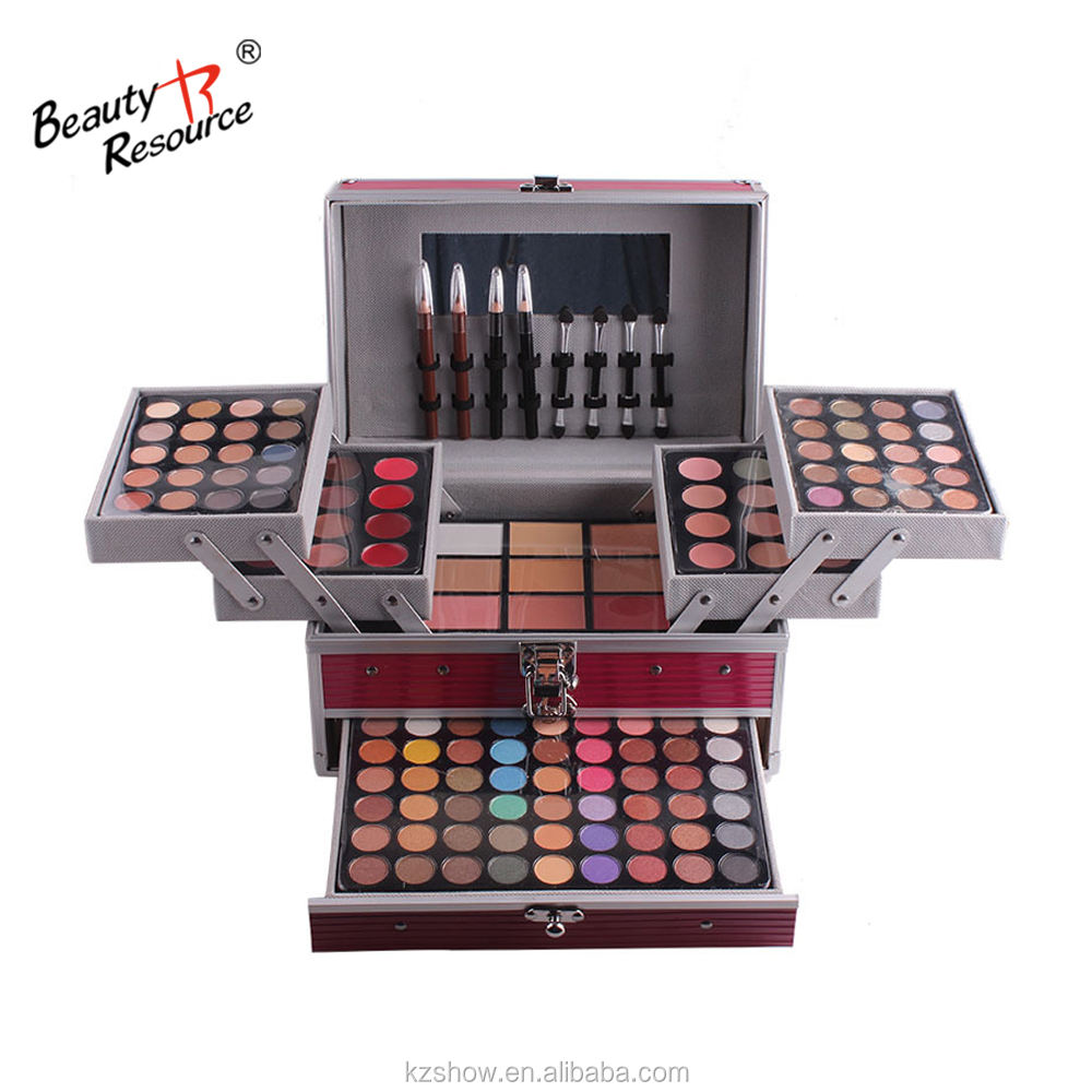 Profession 96 Colours Eye shadow Colour Cosmetics Multi-function Makeup Box Make-Up Palette