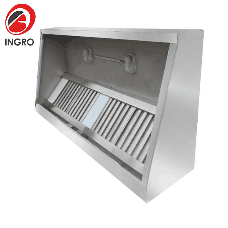 Low Noise Stainless Steel Commercial Carbon Fiber Hood Vent /Industrial Kitchen /Portable Cooker