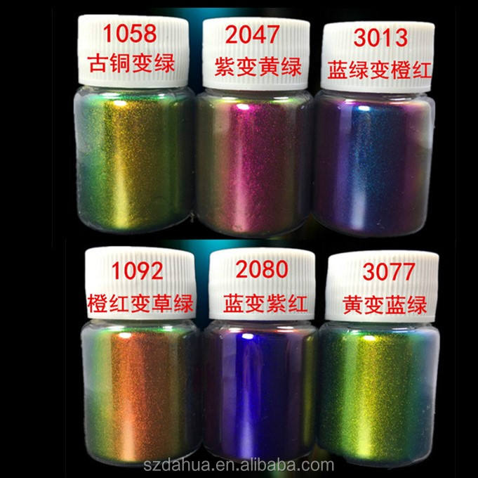 shenzhen dahua Chameleon color shifting pearl effect pigment for paints