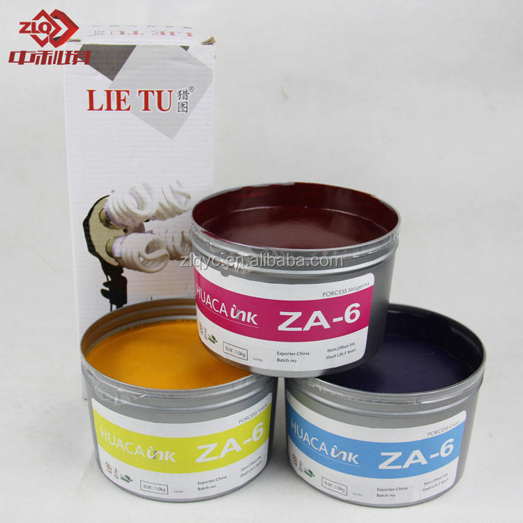 Daihan quality sheet fed offset printing ink with process CMYK color