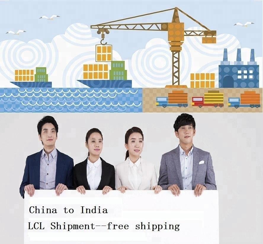 Mer drop shipping services de logistique de shenzhen En Chine à Inde transitaire
