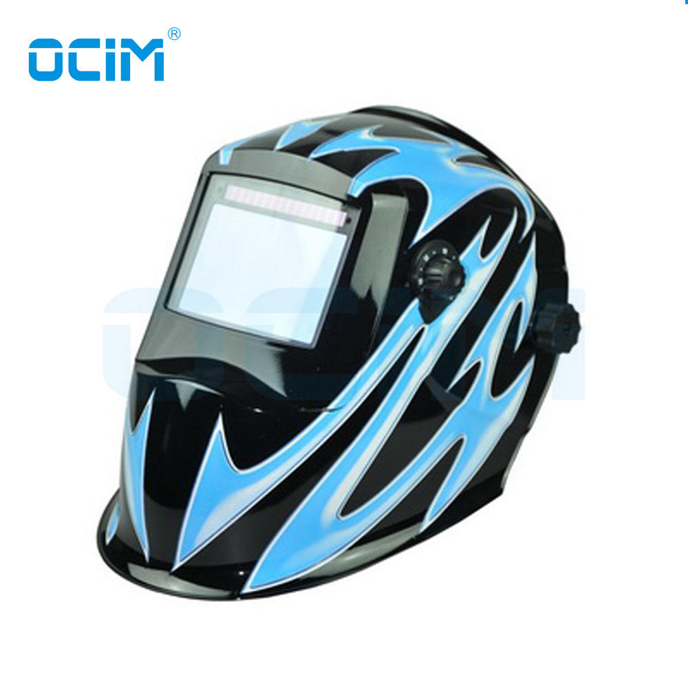 FENGG Solar Powered Welding Helmet Automatic Darkening and Eye-Protecting Mask Shield Eagle Design