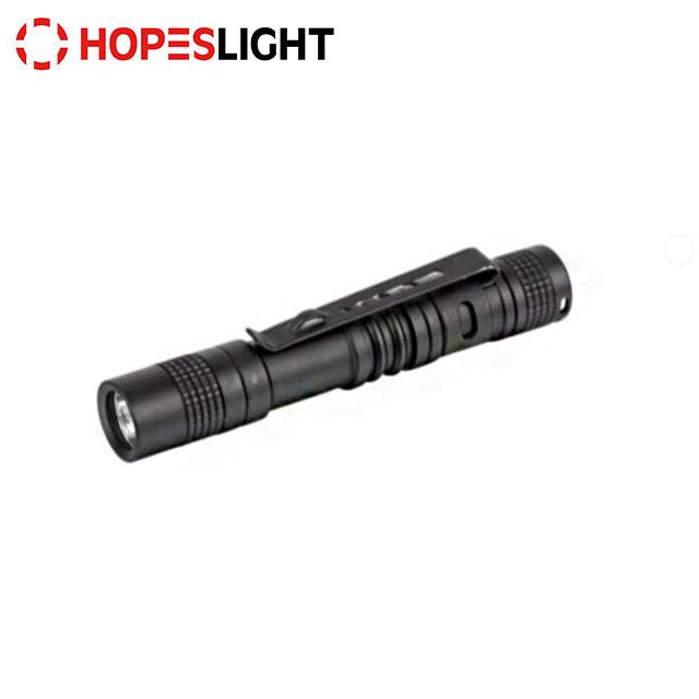 2019 Mini Pen Light XPE LED 200LM Hospital Outdoor 1 Mode Clip Torch Flashlight