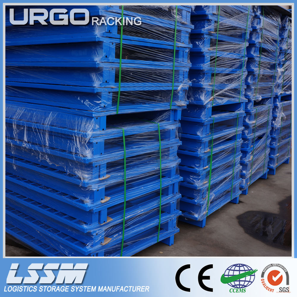 Suitable for Outdoors Selective Industrial Warehouse Shelving Teardrop Pallet Rack