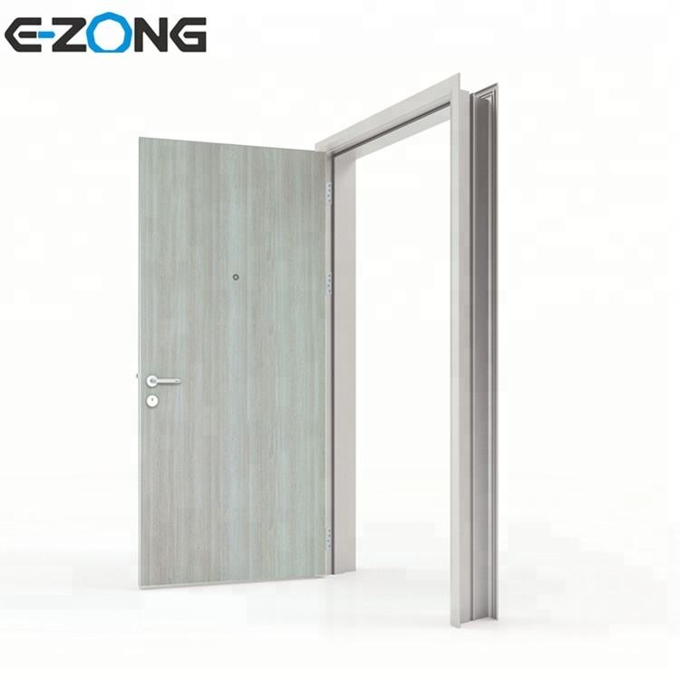 High Quality HPL Interior tooling laboratory Door With peephole
