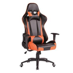 ZHENXING Büro Möbel Orange Leder Dxracer Gaming Stuhl Recaro Gaming Stuhl für Erwachsene Mit Kissen
