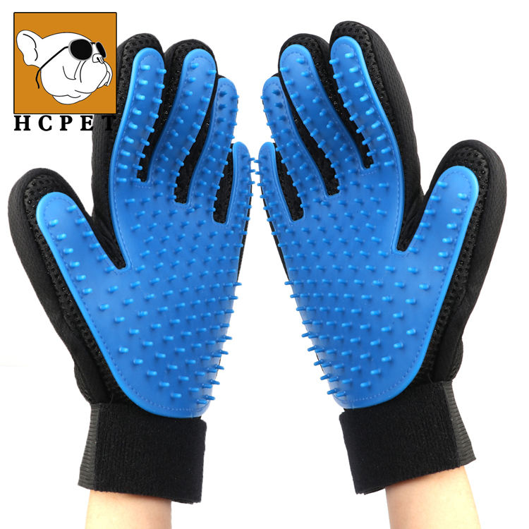 Five Finger Pet Grooming Gloves Silicone Massage Hair Remover Dog Cat Cleaning Brush Magic Glove Sales of Manufacturer
