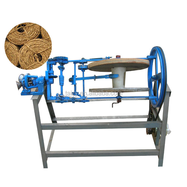Jute nylon rope making braiding twisting machine with motor