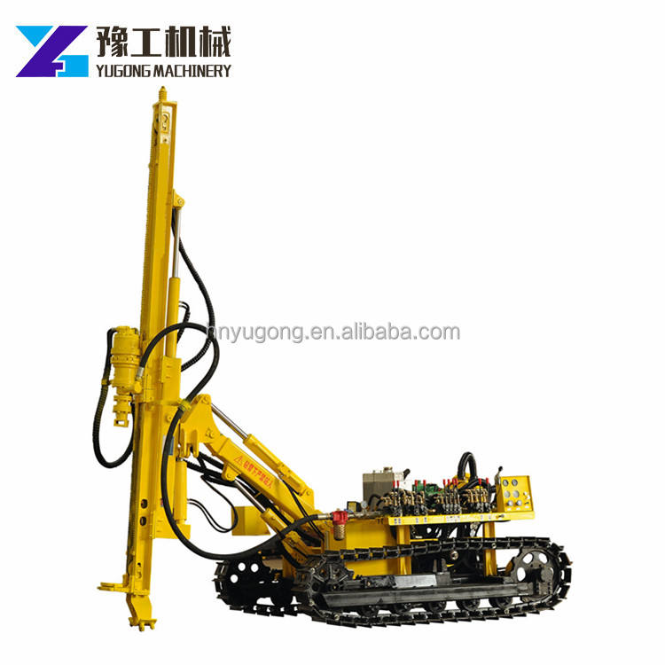 Yugong Hydraulic Crawler Used Rock Drilling Machine For Sale For Drilling Soil And Rock