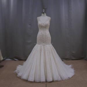 XF5872 التعادل صبغ اللباس أدنى المفتوحة عودة فستان الزفاف أثواب الزفاف الزفاف