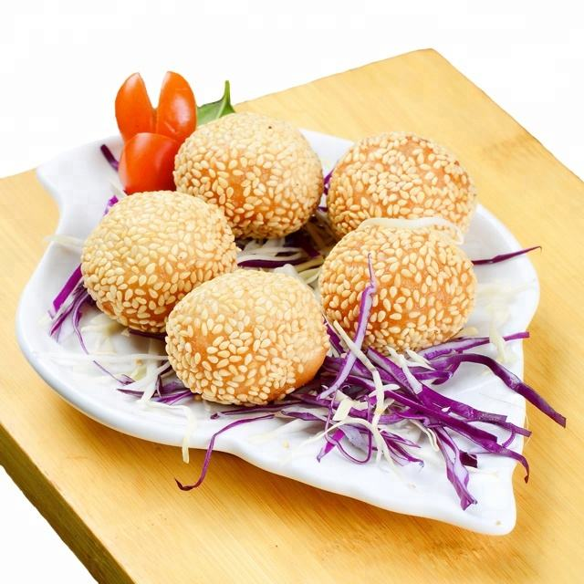 ZHAOHUI Factory IQF Fried Frozen Sesame Balls