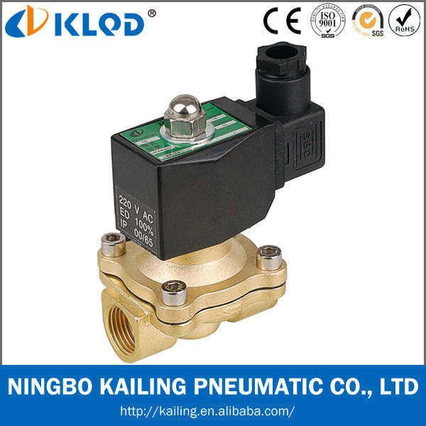 2W160-15 1/2 inch direct acting solenoid valve 220v ac water