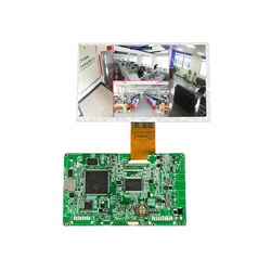 China factory direct 7 inch display drive board AHD high resolution 4 ch car monitor