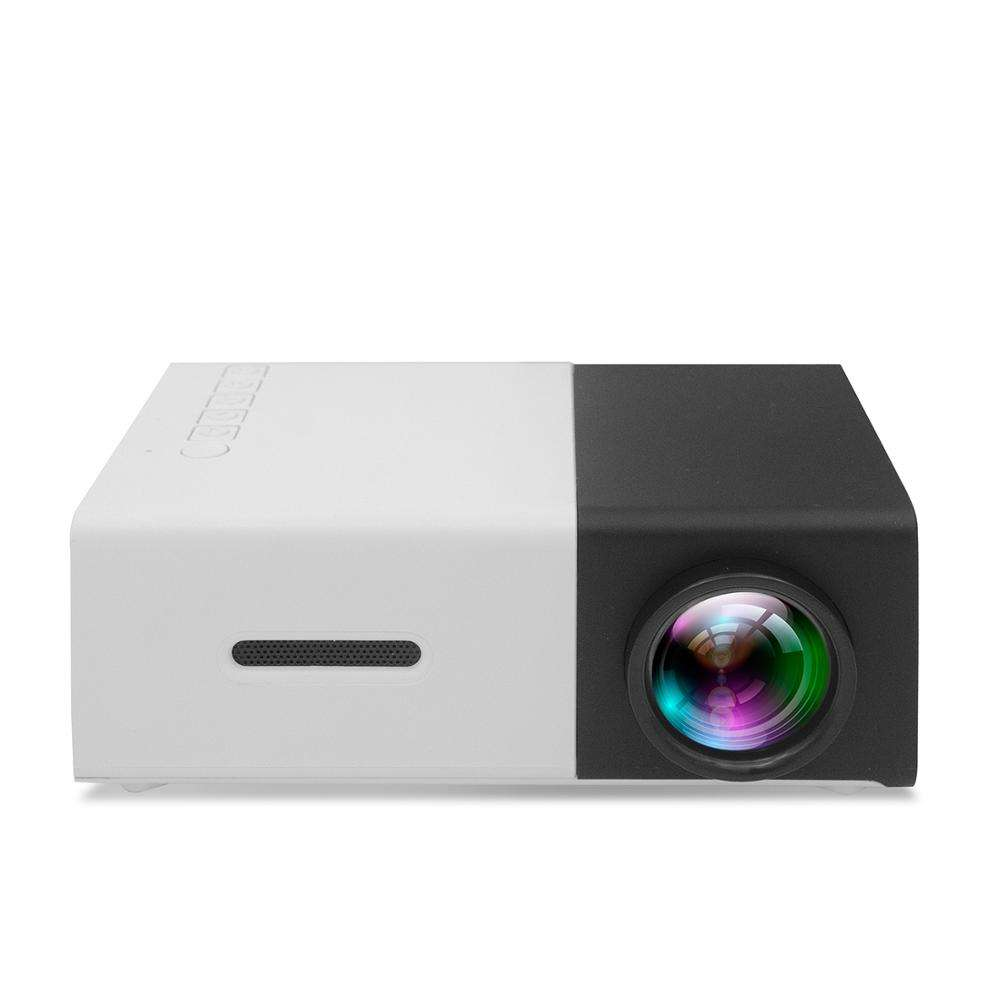 Hot selling projector YG300 led mini portable projector home outdoor projector with 3 colors