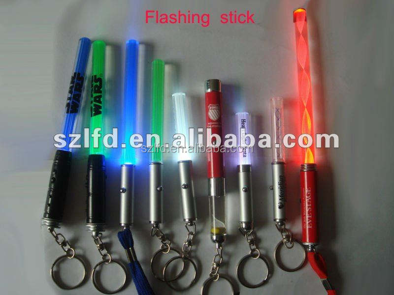 promotional gifts led stick ,party decoration led flashing stick , hot new products for 2014 led stick with factory price
