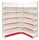 Good price supermarket book store shelves dimensions