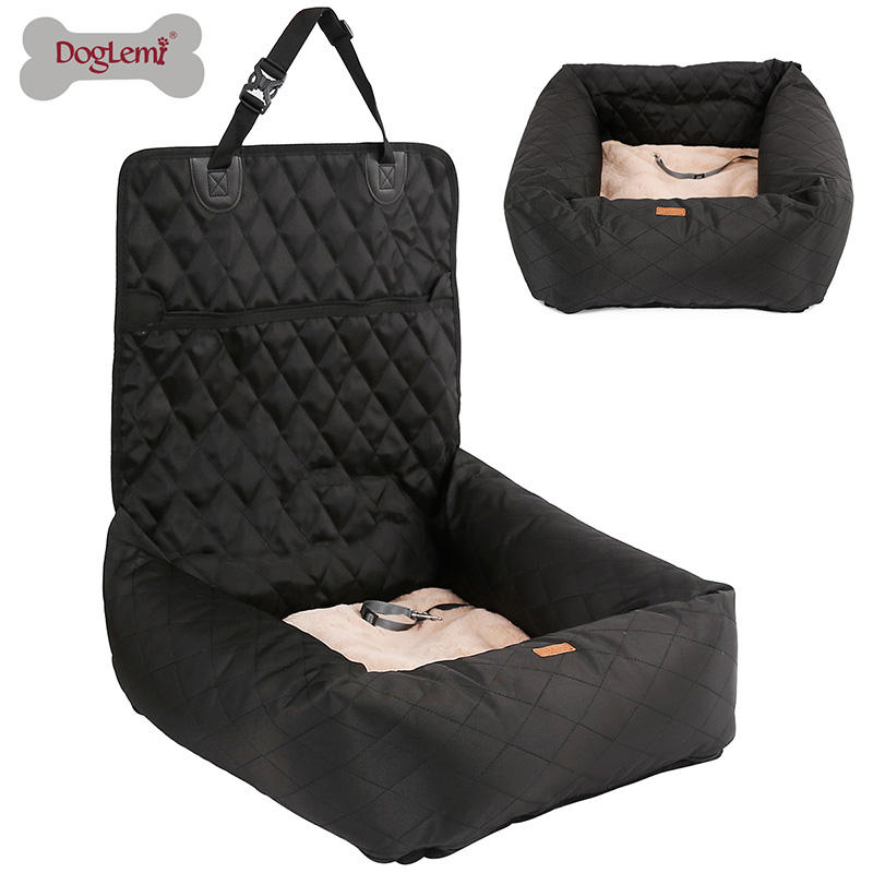 Luxe Auto Pet Seat Cover Voor Hond Functionele Hond Auto Seat Cover