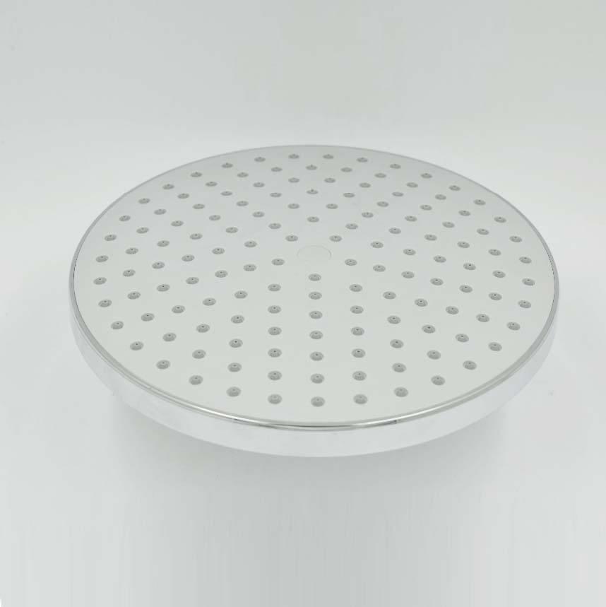 Высокое качество аксессуары для ванной комнаты круглой формы осадков и Водопад экономии воды душем