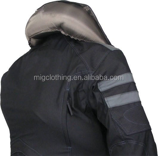 Motorcycle airbag jacket with Air bag system