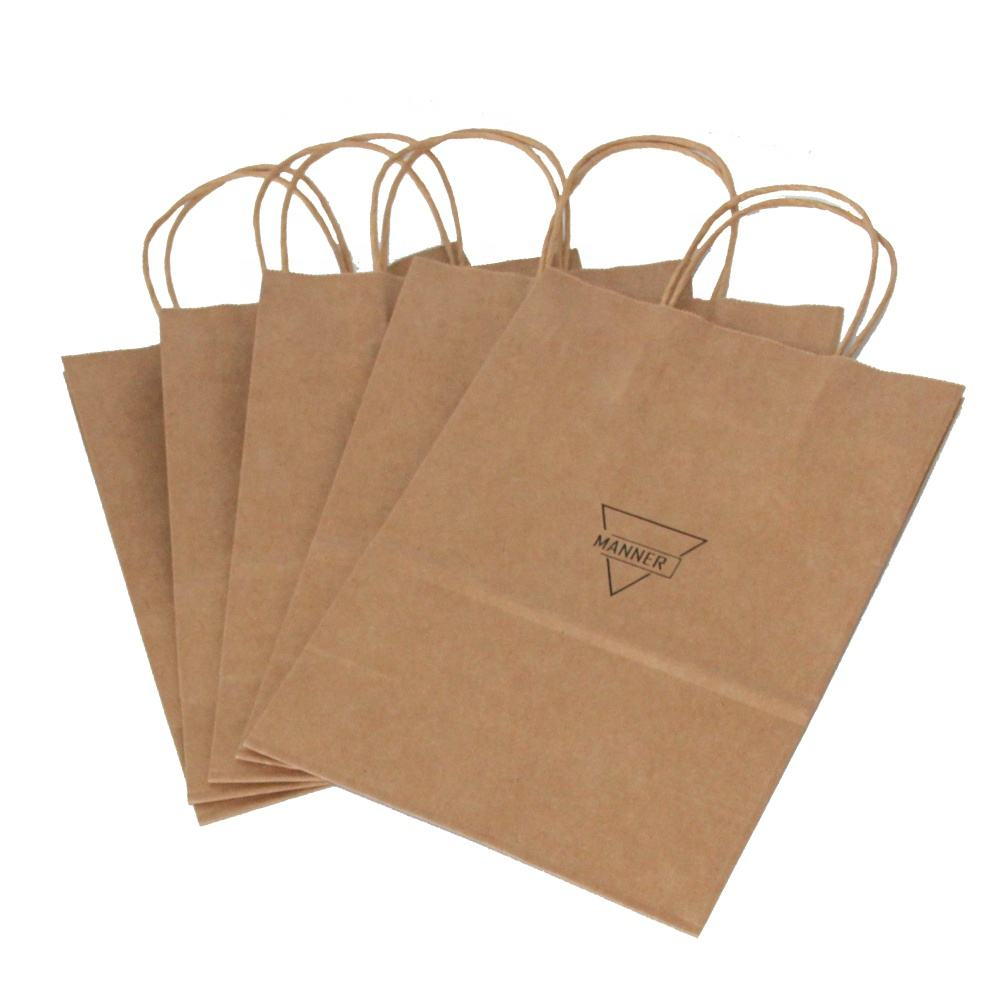 Promotional carbon bag celebrate it gift candy stripe paper bags
