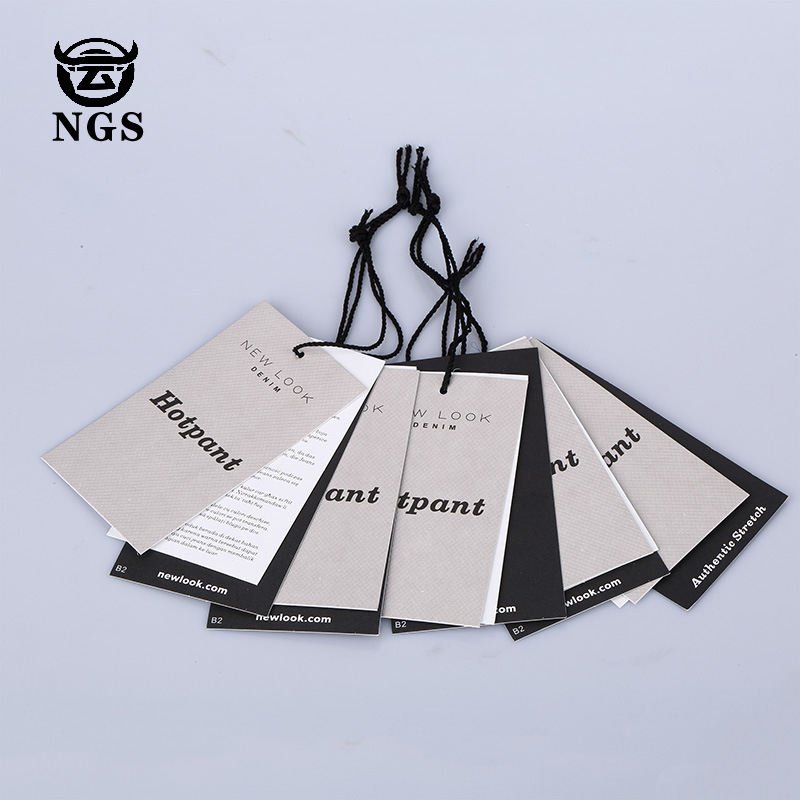 Wholesale New Luxury China Designs Hangtags For Jeans/Clothing