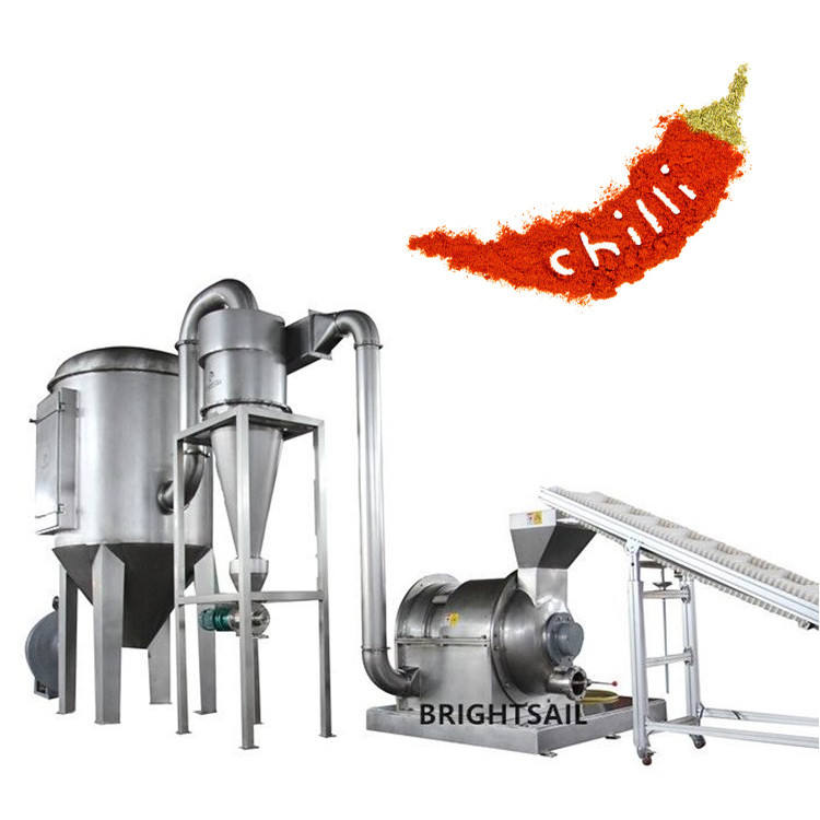 Sri Lanka chili powder grinding machinery chili pepper grinding machine