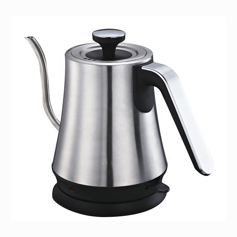 Best selling New arrived fashion electric kettle thermos commercial food grade goose neck electric commercial cordless kettle