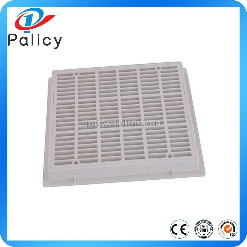 Swimming Pool and SPA Square Shape Plastic Drain Cover