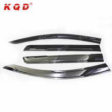 car window visor injection accessories window visor sun rain guard for mitsubishi montero sport 2016
