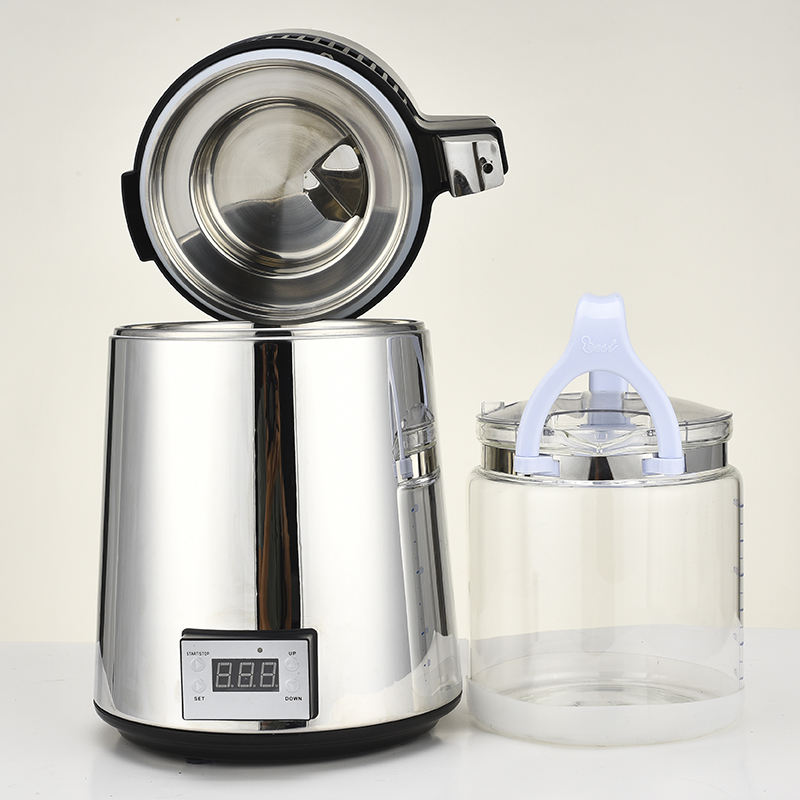 Table Top 4L Stainless Steel Energy Efficient Water Distiller for Home Use