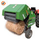 China manufacturer hand mini round hay baler for sale