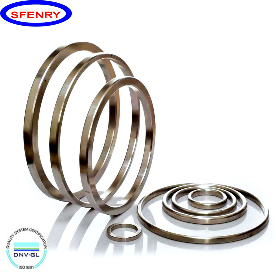 Fenry ASME B16.20 Metal Stainless Steel 304 316 316L RTJ Ring Joint Gasket For RTJ Face Flange