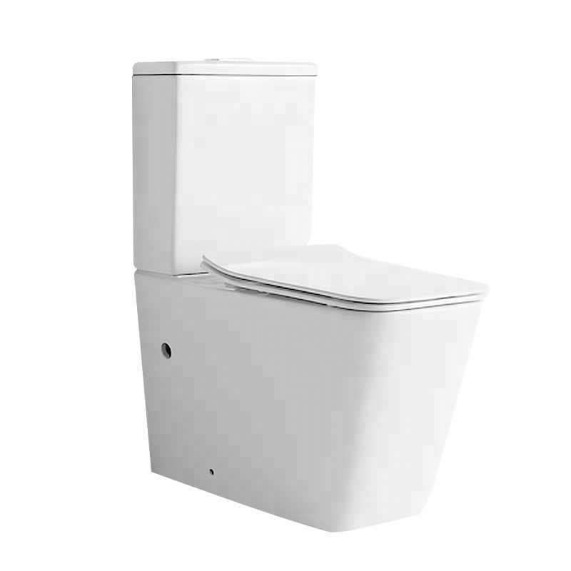 Yida Foshan Watermerk Dual Flush 3/4.5 L Twee Stuk Randloze Ontwerp Direct Flush Waterbesparende Wc Seat Voor hotel Project