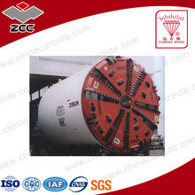 zhuzhou cemented carbide works types of carbide tips for tunnel boring machine toolings type LEP