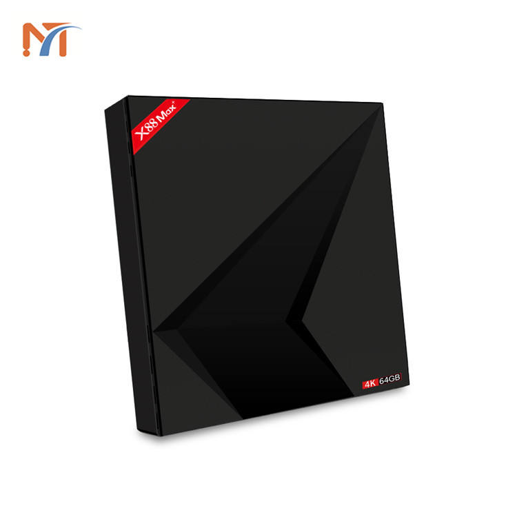 Descargar manual del usuario Rockchip RK3328 4 gb 64 gb smart decodificador X88 MAX + android 9,0 tv box 4 k hd reproductor de medios