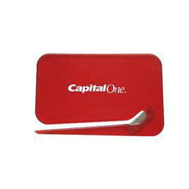 business card letter opener office tool