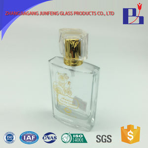 Junfeng 50ml wholesale Customized perfume sample bottle spray