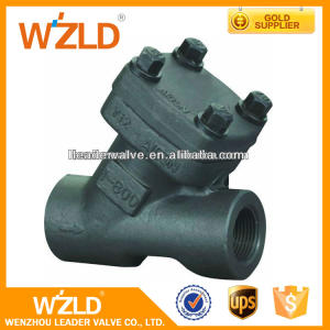 WZLD Y-Type Forged Wafer Npt/Sw/Screwed Ends Piston Check Valve With CL800,CL2500