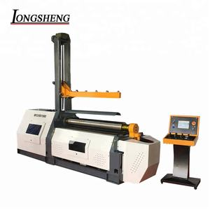 2018 new 4-roller hydraulic plate rolling machine
