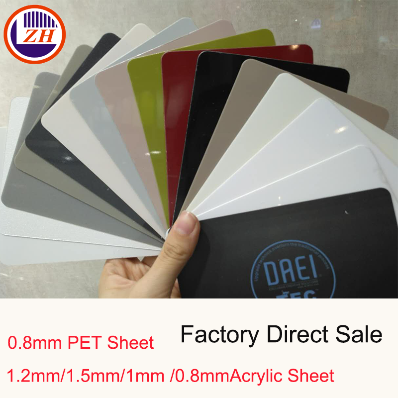 1.2mm/1mm/0.8mm alibaba china hot selling pet sheet acrylic sheet plastic sheets white board pvc sheet
