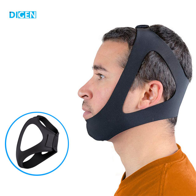 2019 new design adjustable anti snore chin strap sleep snoring products for women and men
