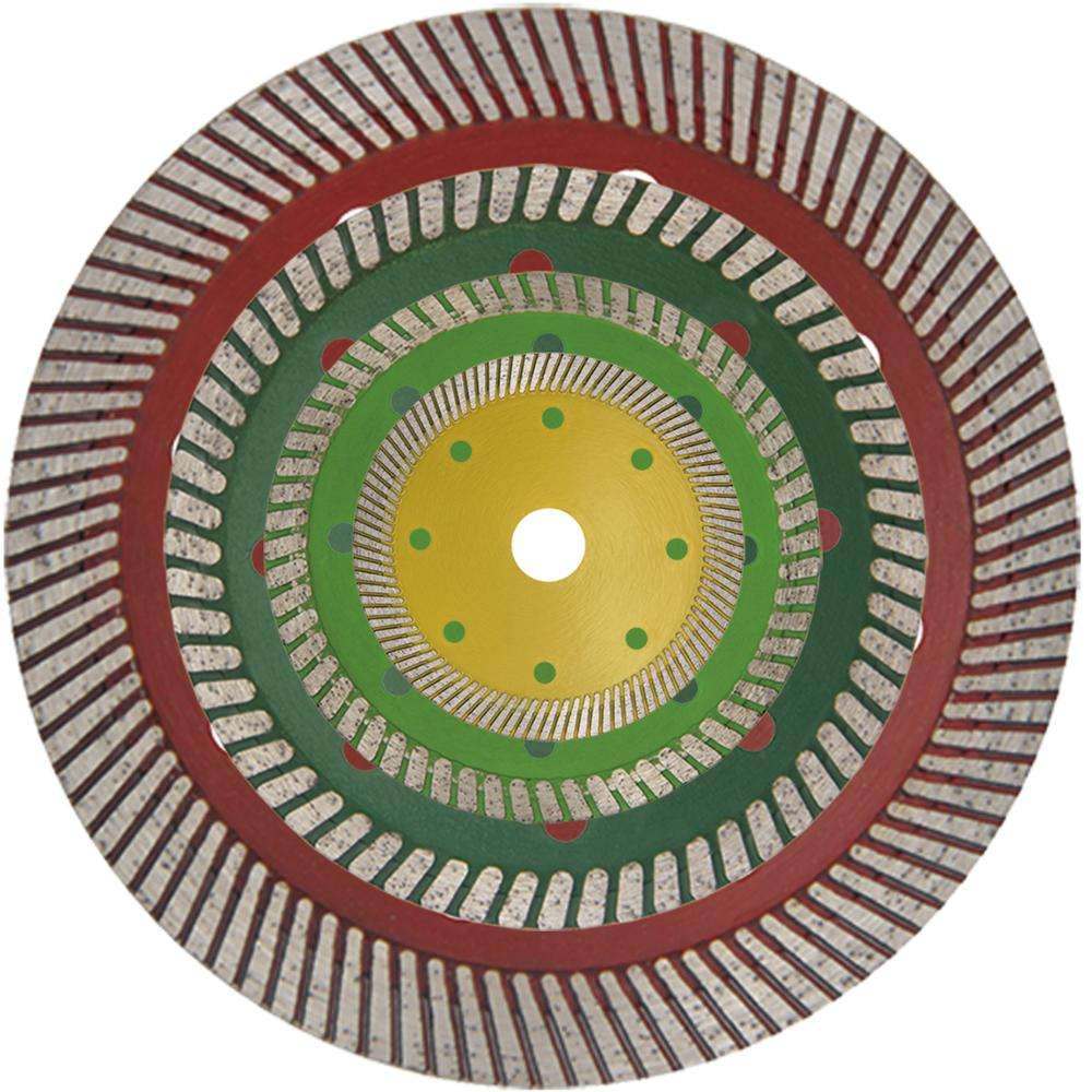 Dry Cutting Diamond Saw Blade for Granite